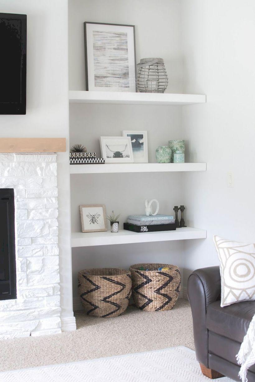 101 Diy Floating Shelves Bookshelf And Wall Shelves Easy Pertaining To New Decorative Shelves Ideas Living Room Awesome Decors