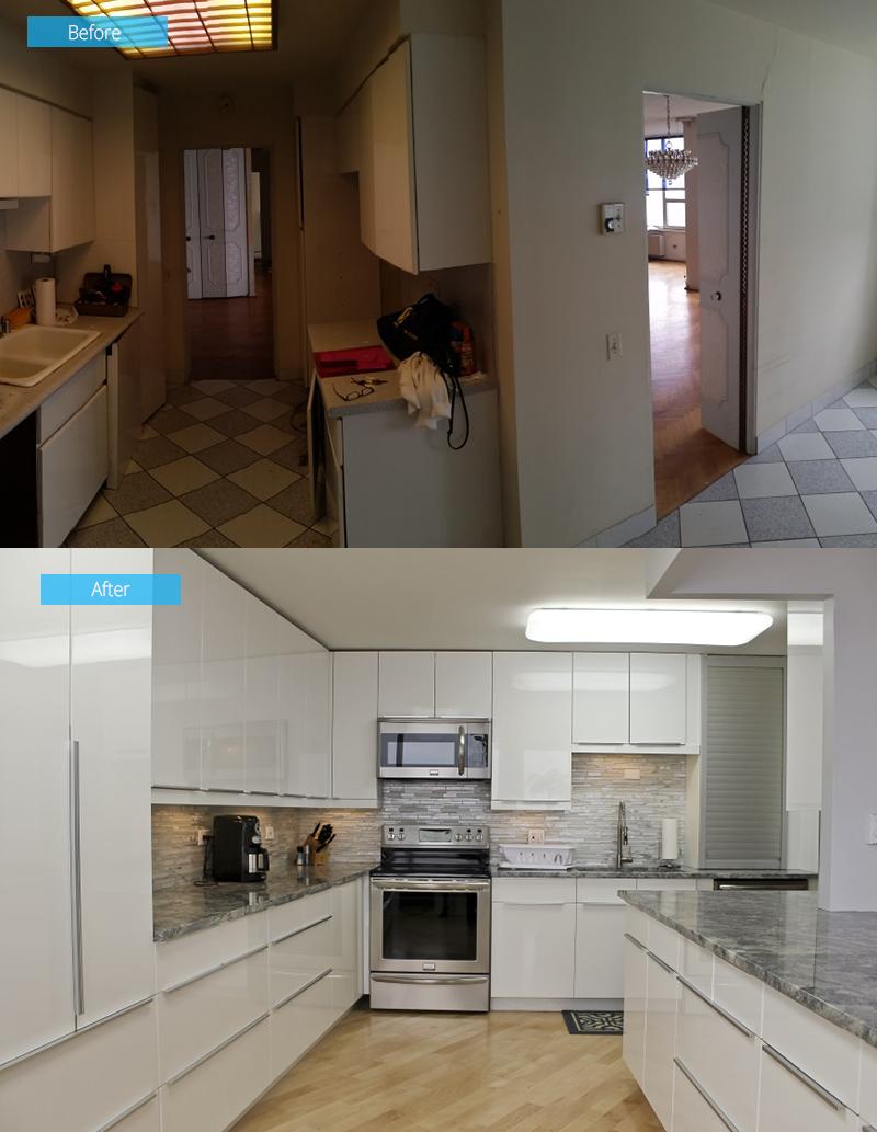 Kitchen Remodel – 6101 N Sheridan, Chicago, IL