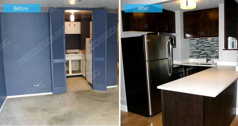 Condo Kitchen Remodel – 21 West Goethe Street, Chicago, IL