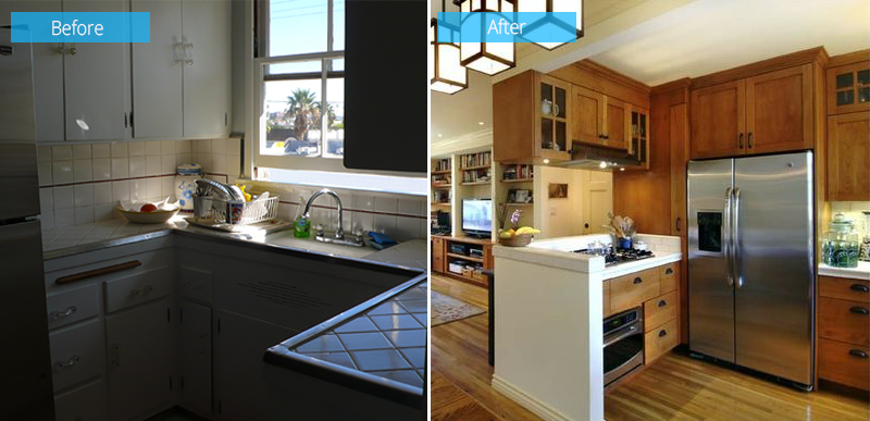 Before and After: Small 1940s Condo Remodel