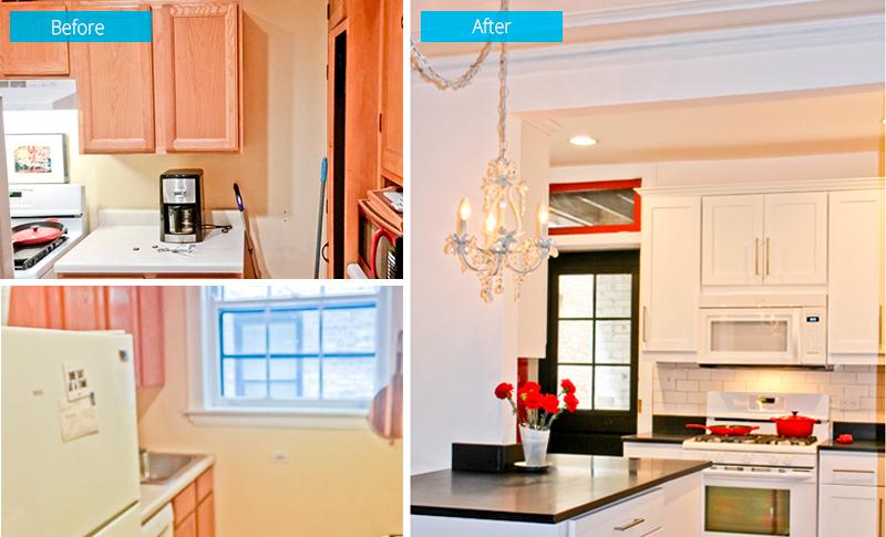 Kitchen Remodel – 819 Forest Ave, Evanston, IL