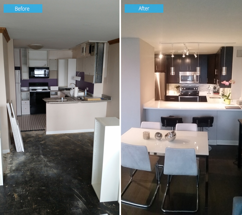 Kitchen Remodel – 1030 N State St, Chicago, IL (Gold Coast)