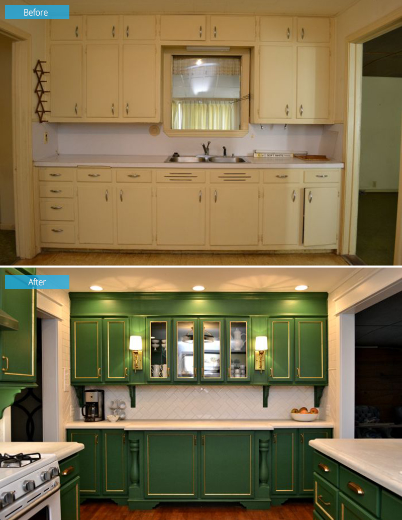 My Finished Kitchen Remodel! (Before & After)