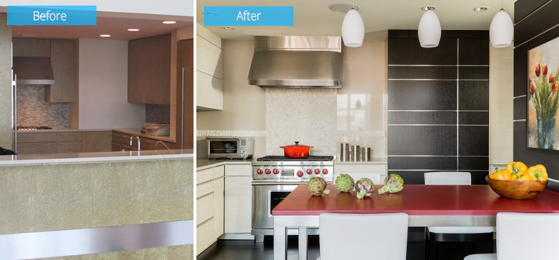 Boston South End Condo Kitchen Remodel – Before & After