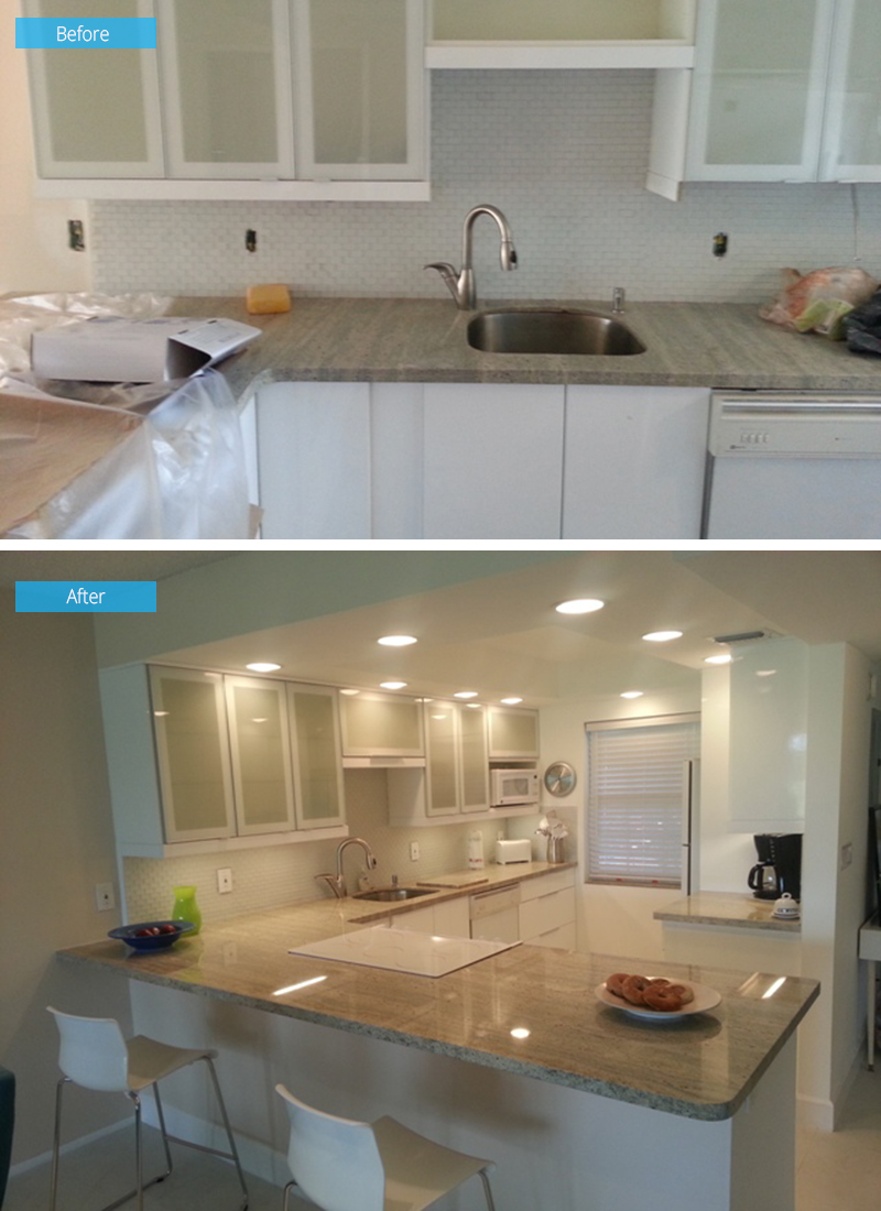 Palm Aire Kitchen Remodel Gallery