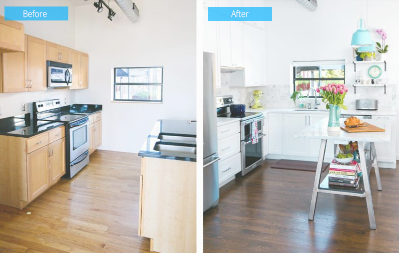 Before After Photos Kitchen Renovation