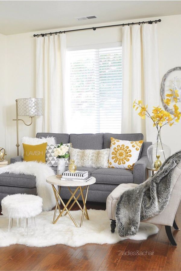 25+ Best Small Living Room Decor And Design Ideas For 2019 regarding Ideas Of Decorating Small Living Room