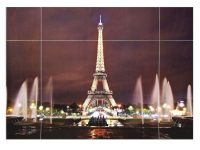 37Inches Removable Paris Eiffel Tower Wall Sticker Living Room Decal Home Decoration throughout Lovely Eiffel Tower Living Room Decor