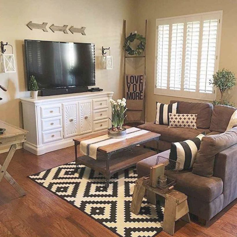 50 Best Rustic Apartment Living Room Decor Ideas And With Lovely Modern Living Room Decorating Ideas For Apartments Awesome Decors