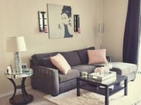 Awesome Apartment Living Room Decorating Ideas On A Budget regarding Decorating Living Room Ideas For An Apartment