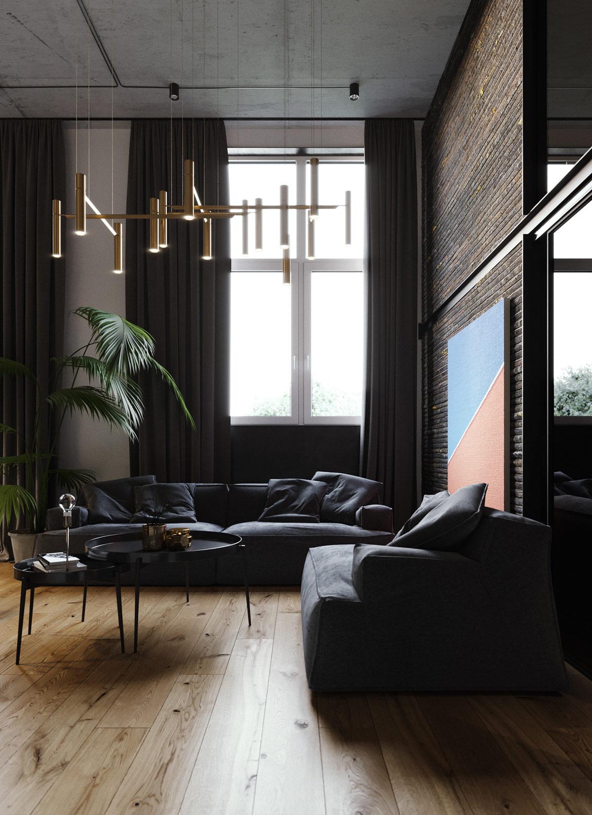 Modern Industrial Interiors