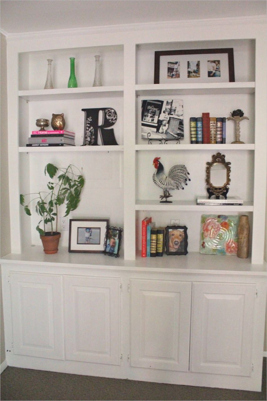 Bookshelves In Living Room