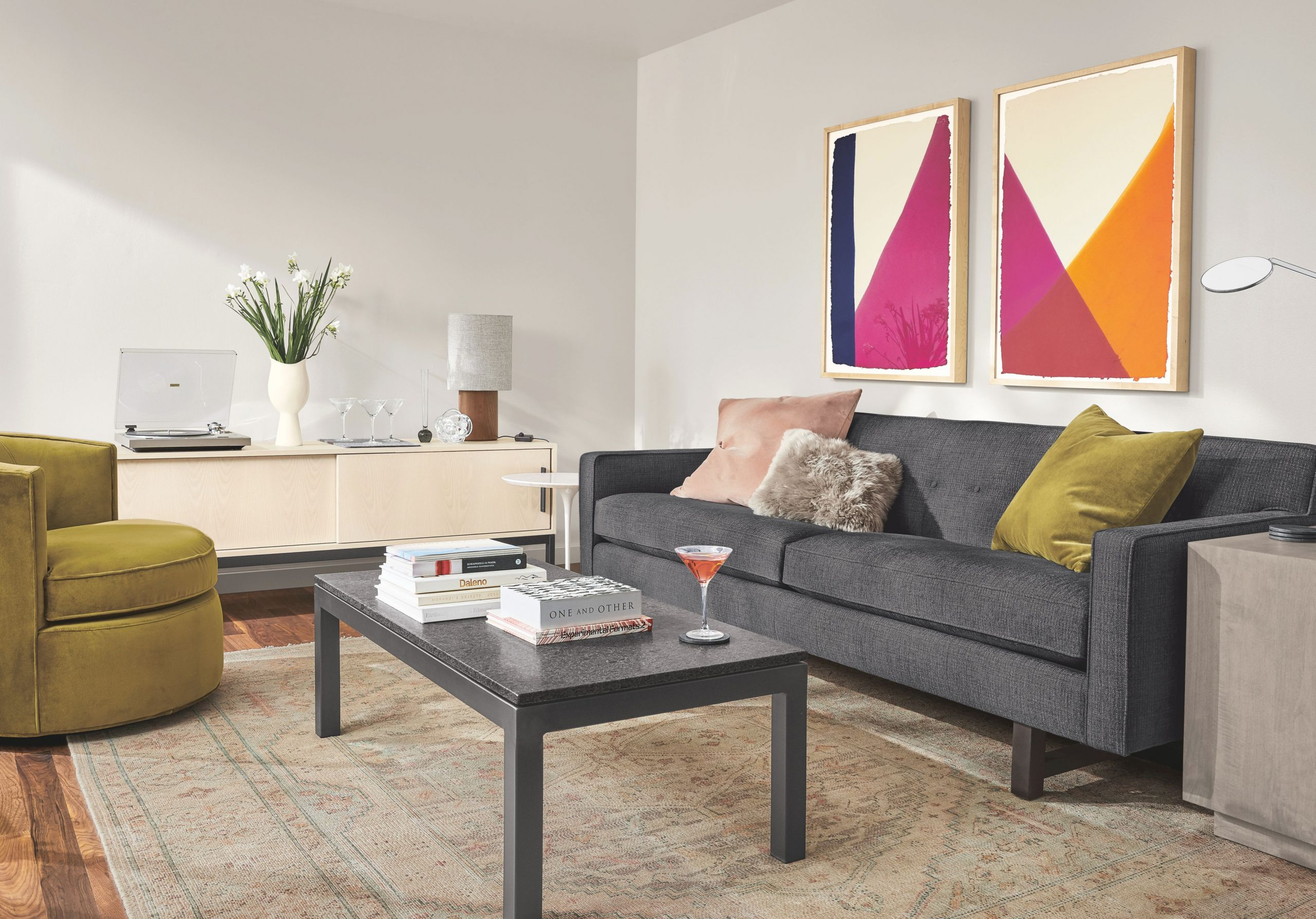 Decorating Ideas For A Small Living Room - Room & Board throughout Unique Ideas Of Decorating Small Living Room