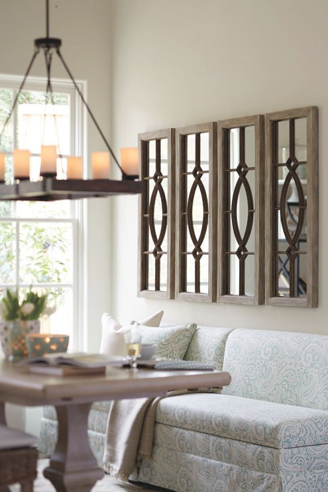 Decorating With Architectural Mirrors Dining Room Wall With Mirrors Decorative Living Room Awesome Decors