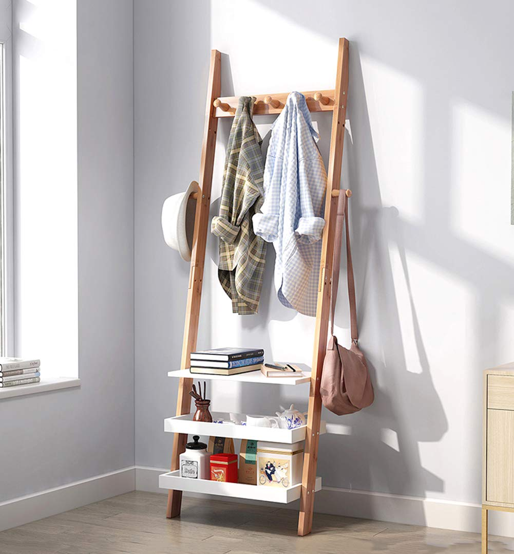 entryway-table-shelf-and-coat-rack-combination