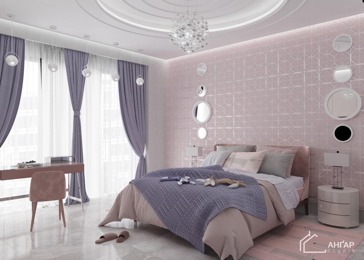 girls-pink-bedroom