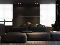Dark Grey Modern Decor