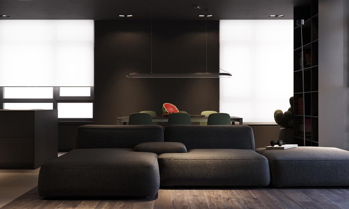 Dark Grey Modern Decor