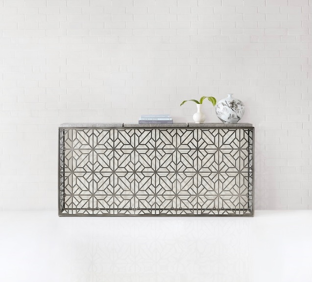 long-entryway-table-with-intricate-metal-fretwork-and-slate-top