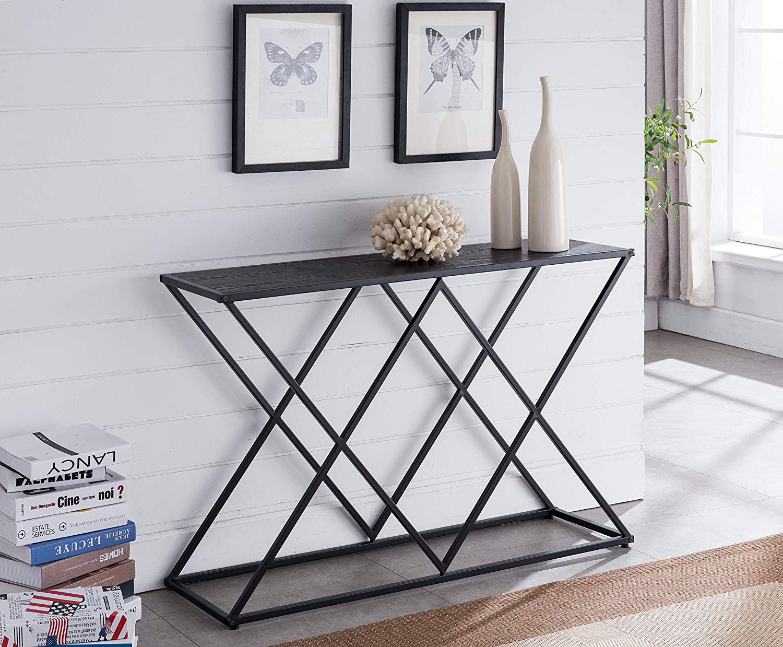 modern-geometric-black-entryway-table-streamlined-design
