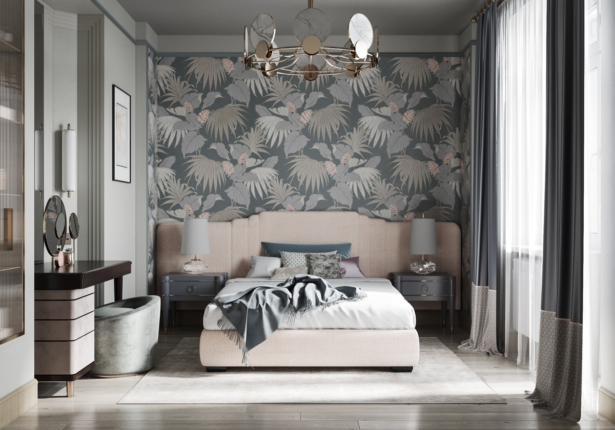 nude-pink-and-grey-bedroom