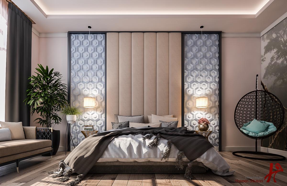nude-pink-bedroom-decor