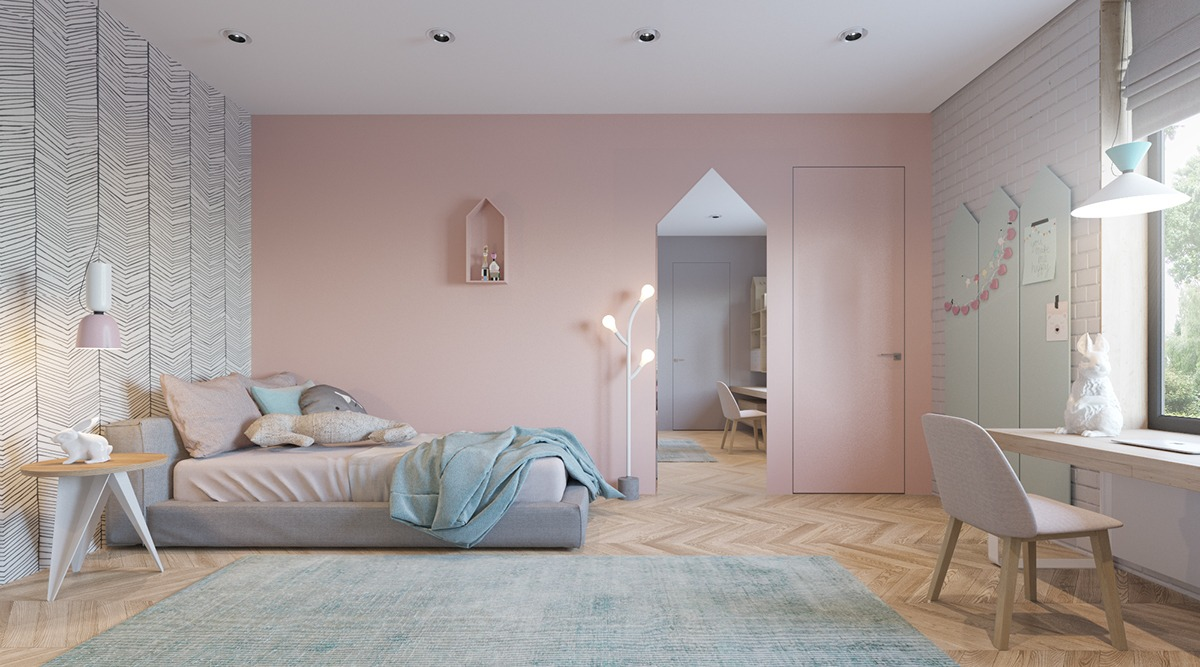 pink-and-gray-bedroom-ideas
