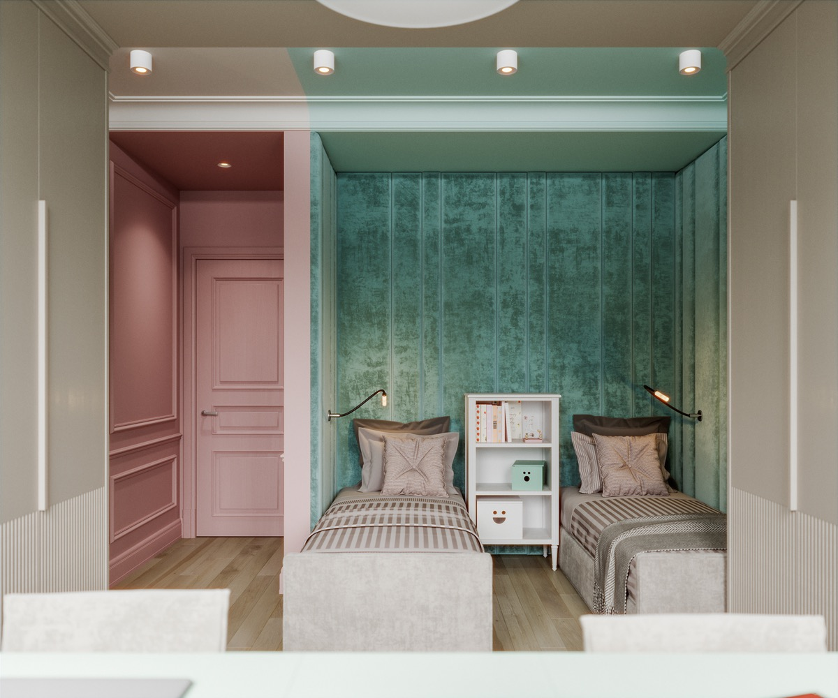 pink-and-green-bedroom-ideas