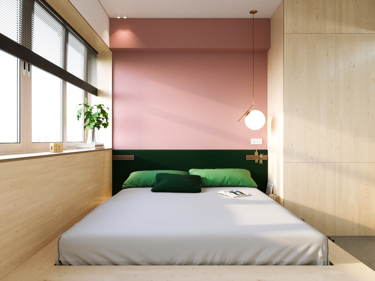 Pink And Green Bedroom Awesome Decors