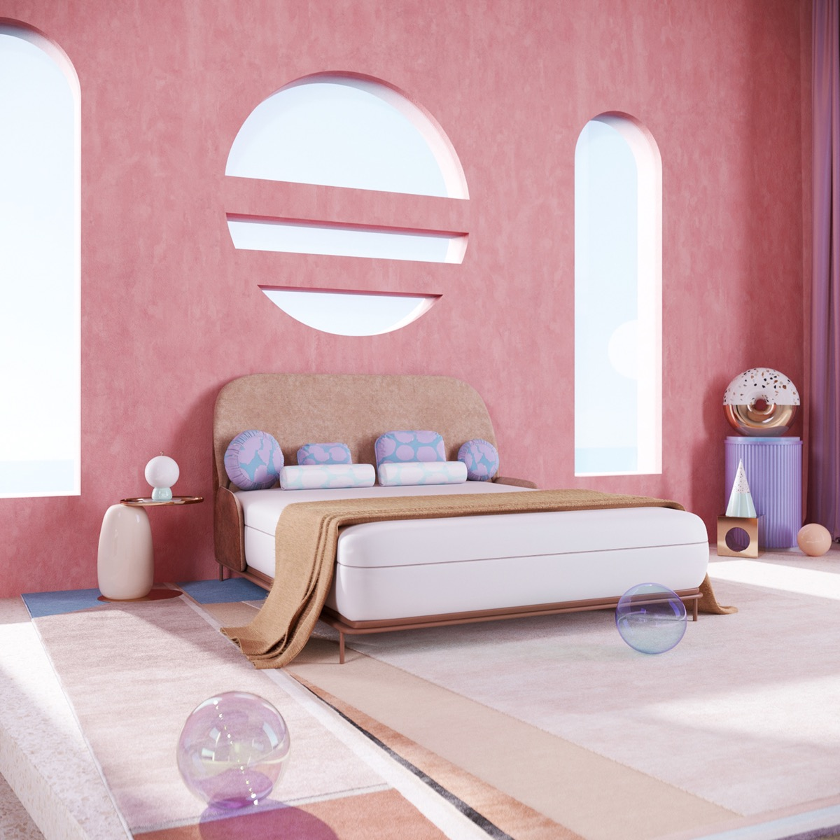 pink-and-purple-bedroom