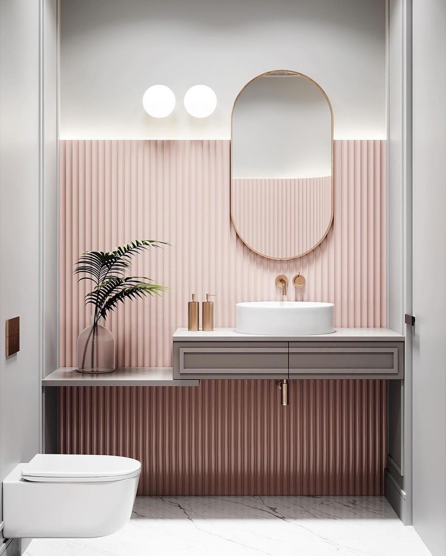 pink-bathroom-decor - Awesome Decors