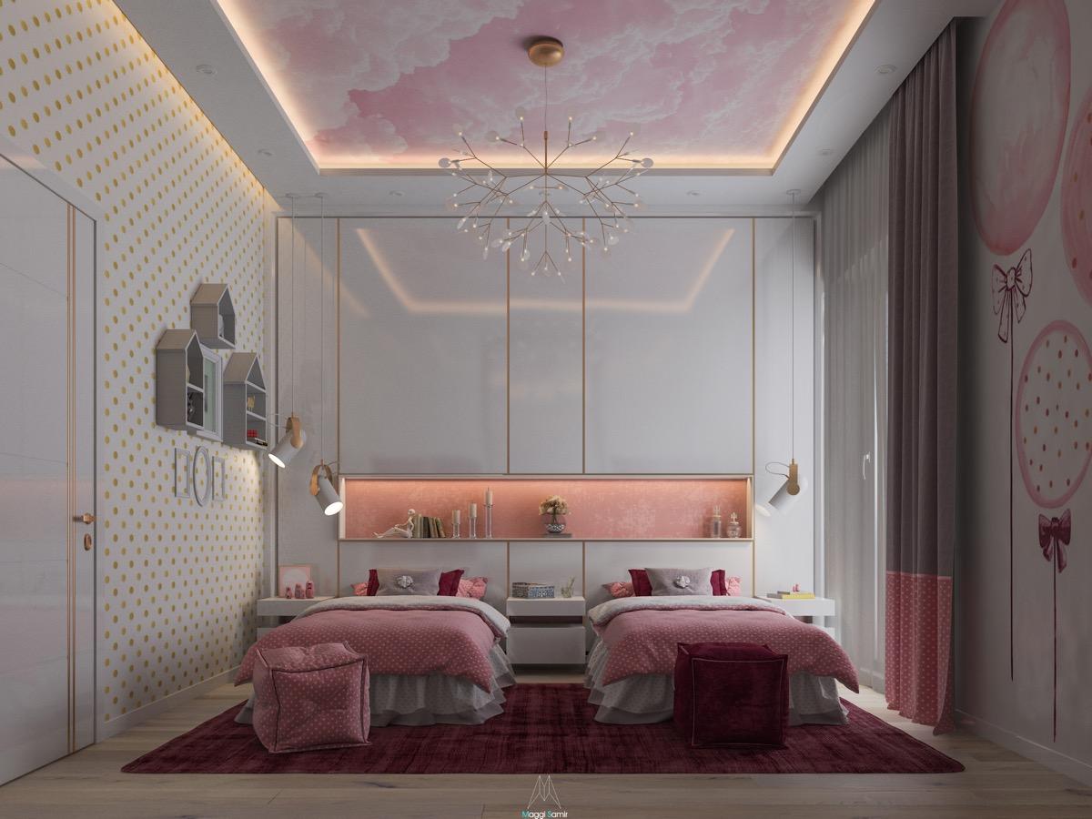 pink-bedroom-ceiling