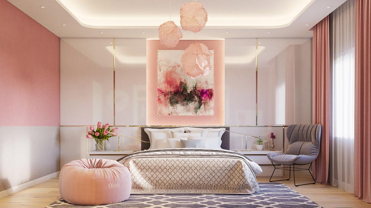 pink-bedroom-lights