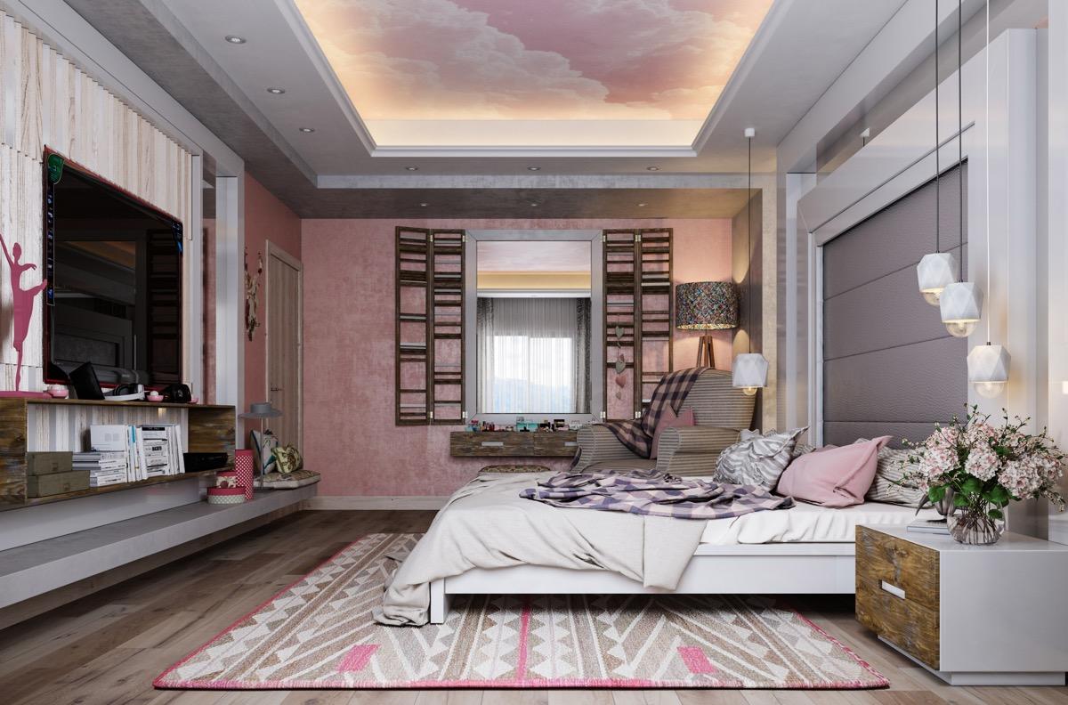 pink-bedroom-rug