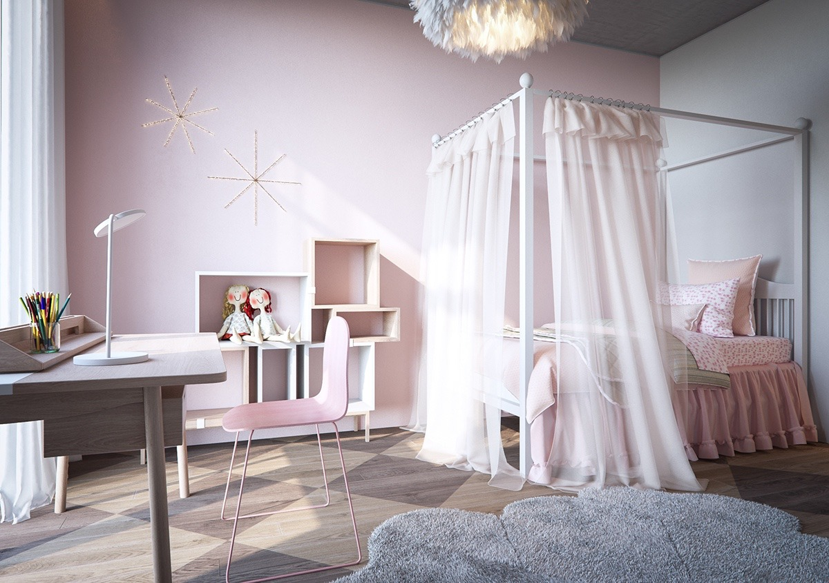 pink-chair-for-bedroom