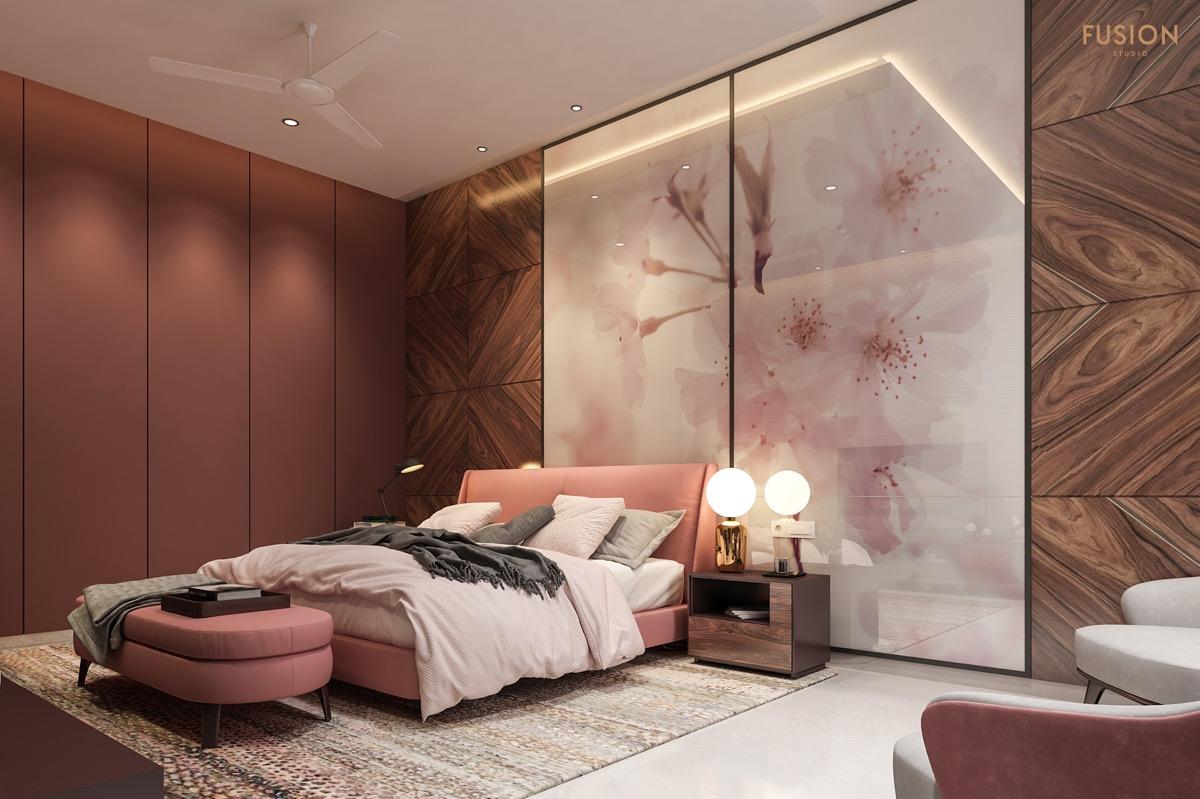 pink-floral-bedroom-design