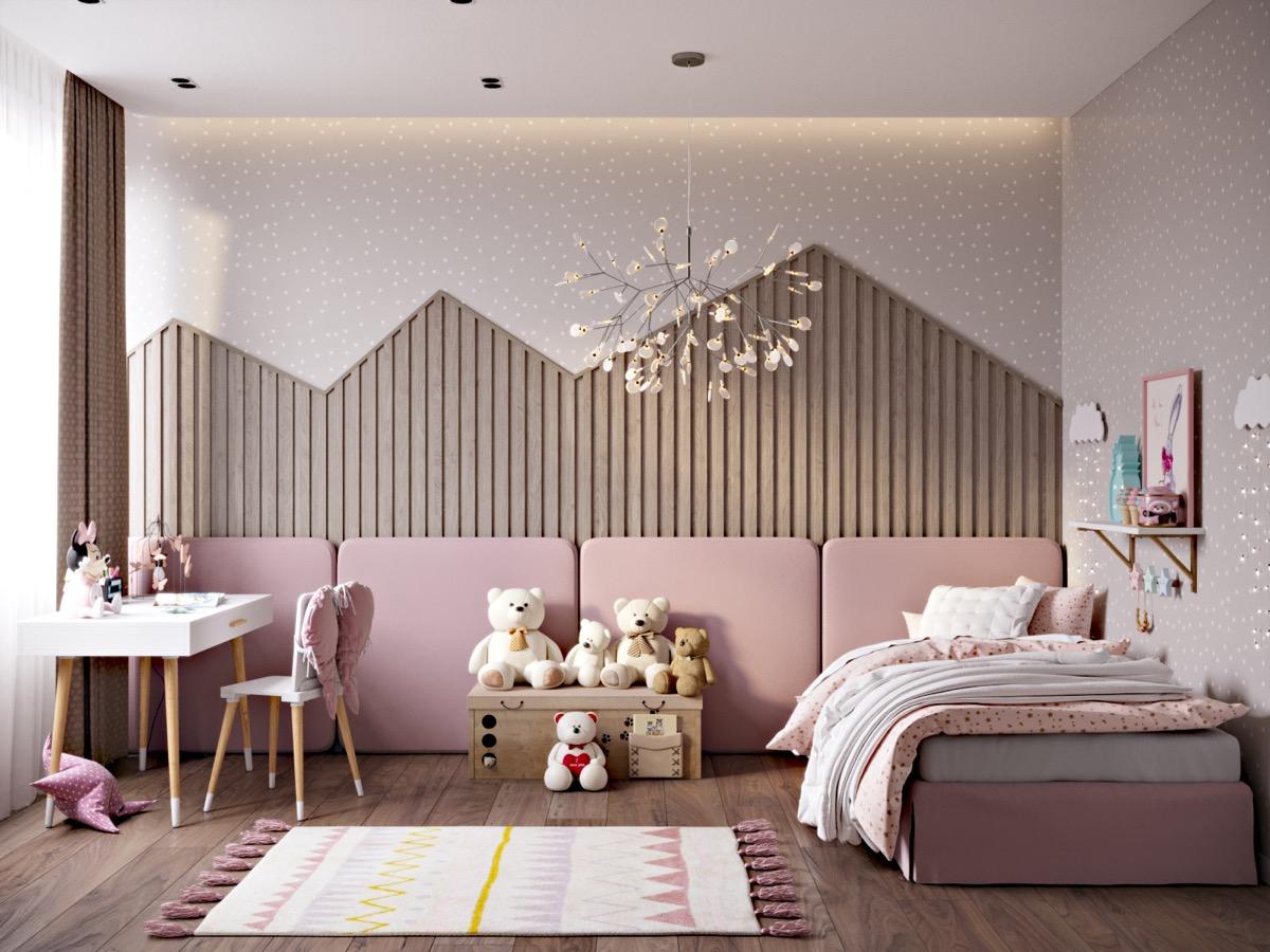 pink-padded-headboard-wall