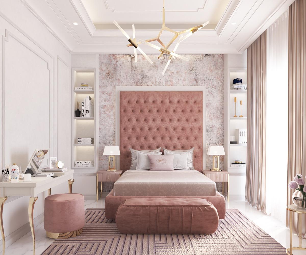 pink-tufted-headboard-ideas