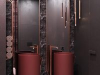 red-and-copper-bathroom