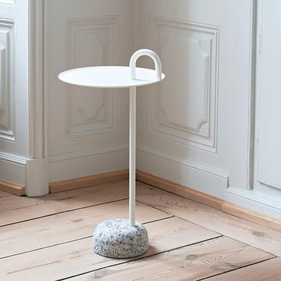 small-designer-entryway-table-with-granite-base-and-round-top-scandinavian-style