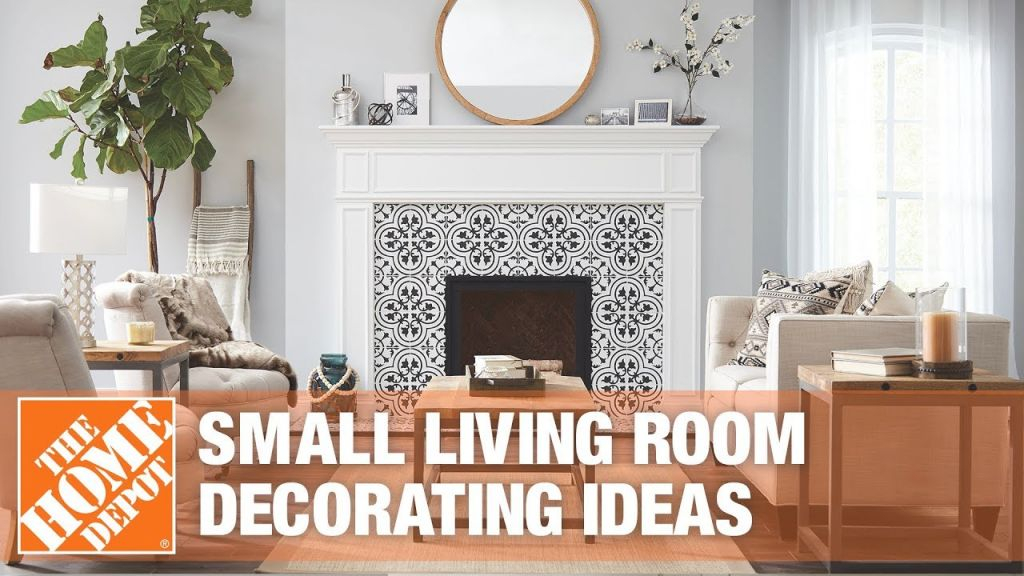Small Living Room Ideas – The Home Depot pertaining to Unique Ideas Of Decorating Small Living Room