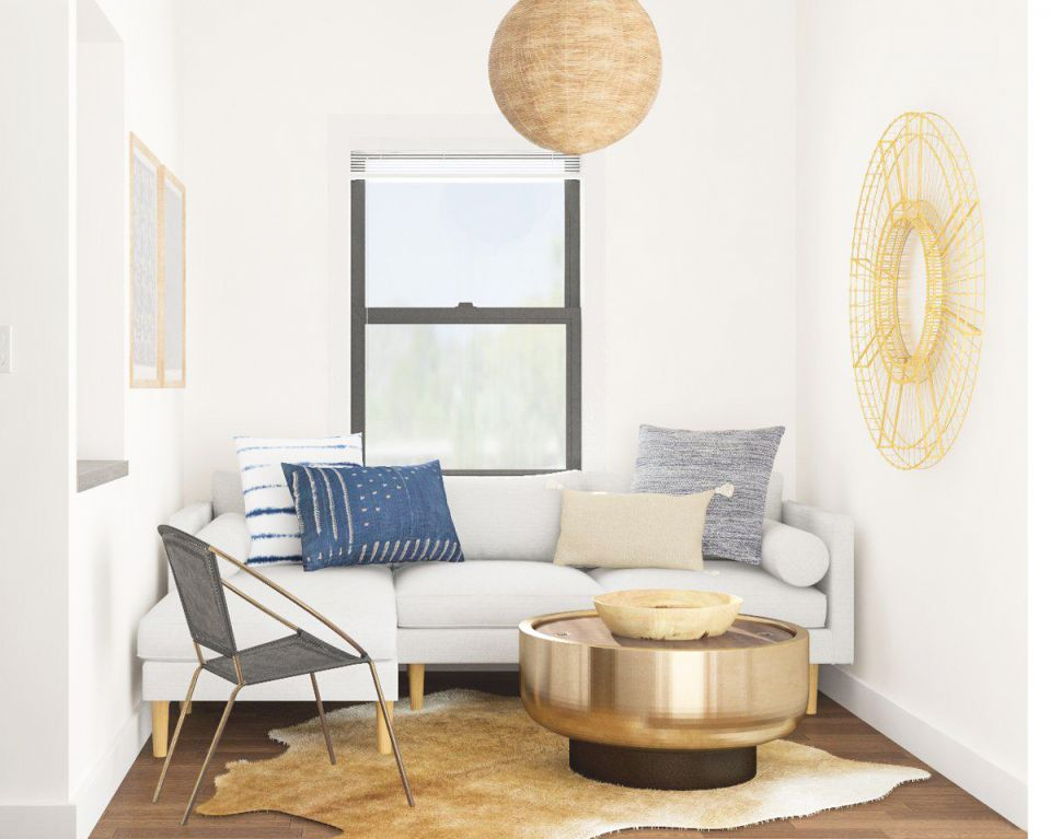 Small Room Ideas: Space-Savvy Solutions For 5 Tiny Spaces pertaining to Unique Ideas Of Decorating Small Living Room