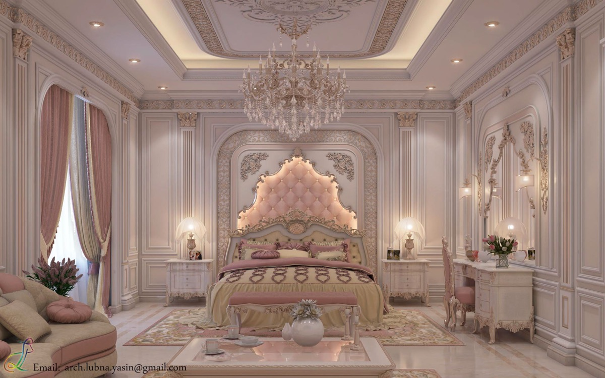 traditional-pink-bedroom