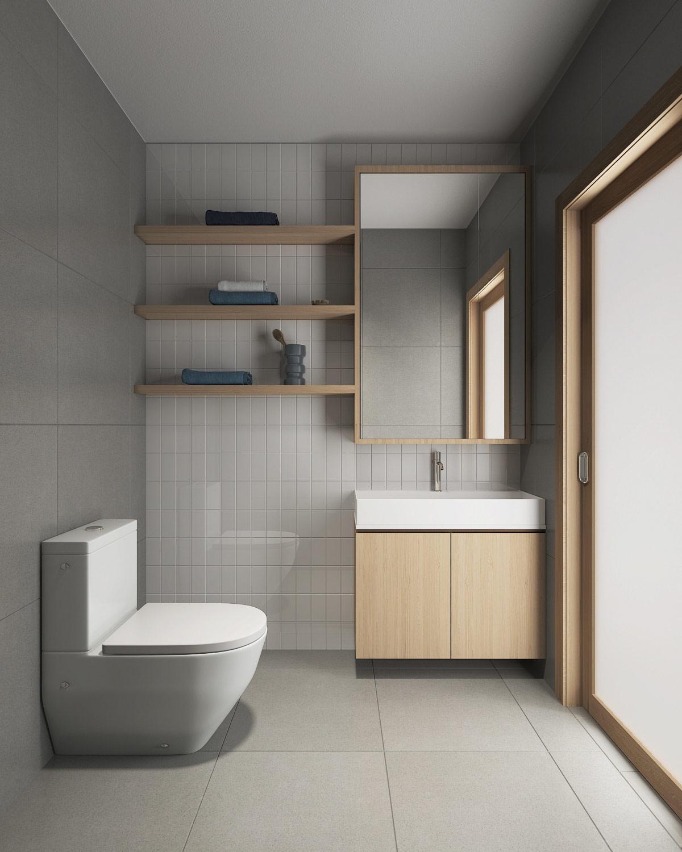 white-and-wood-bathroom