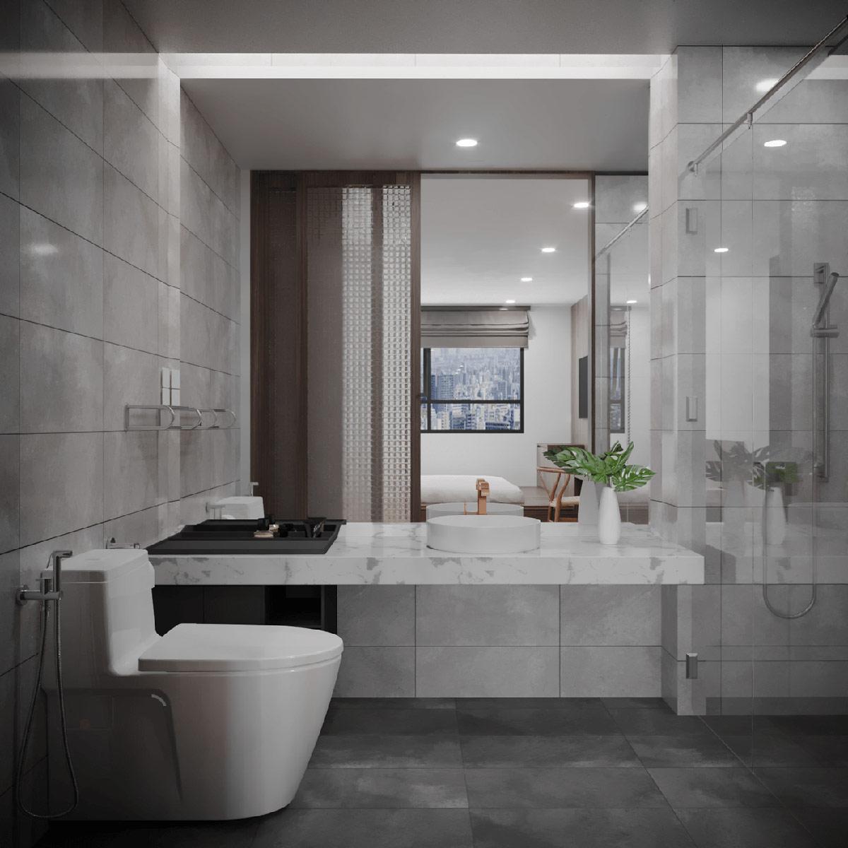 white-stone-countertop