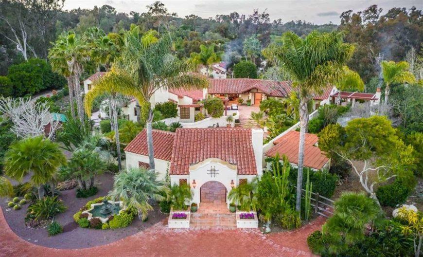 Rancho Santa Fe Covenant Estate in San Diego County