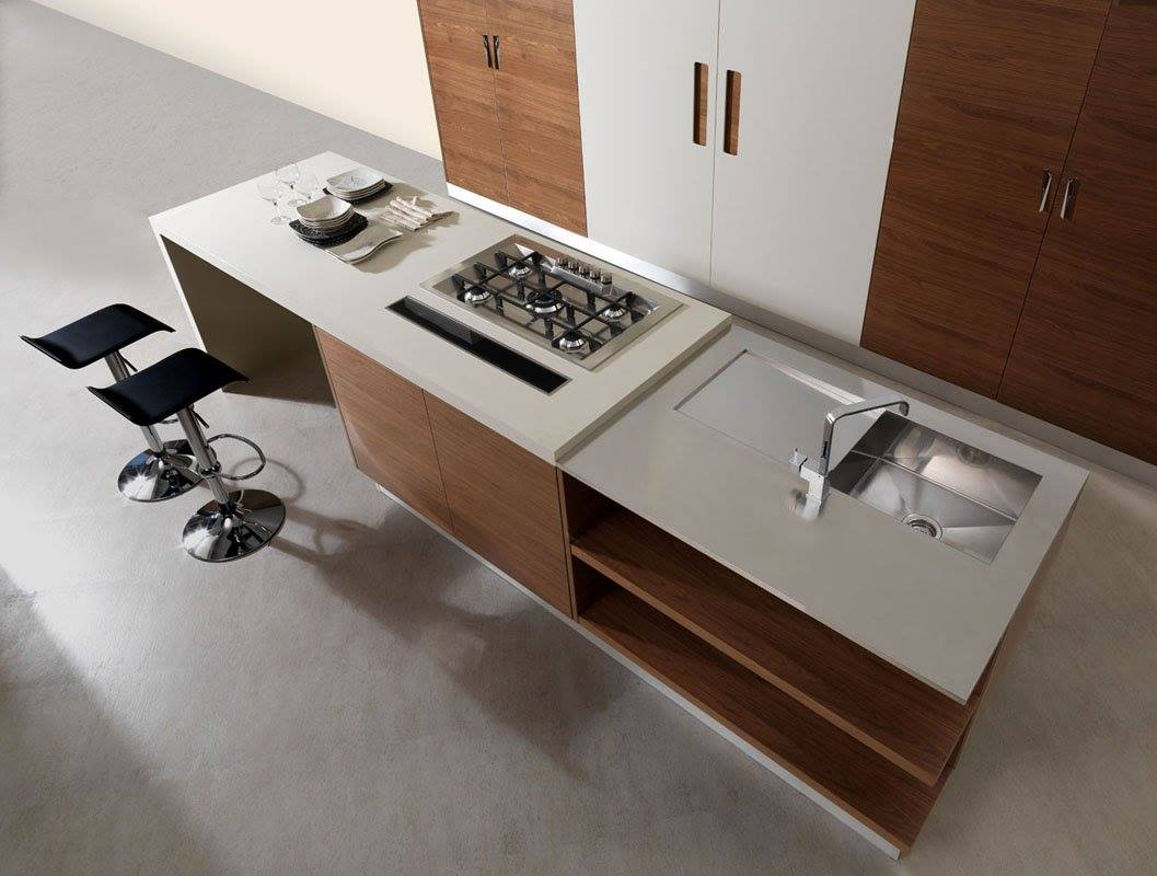 Kitchen countertop by Okite