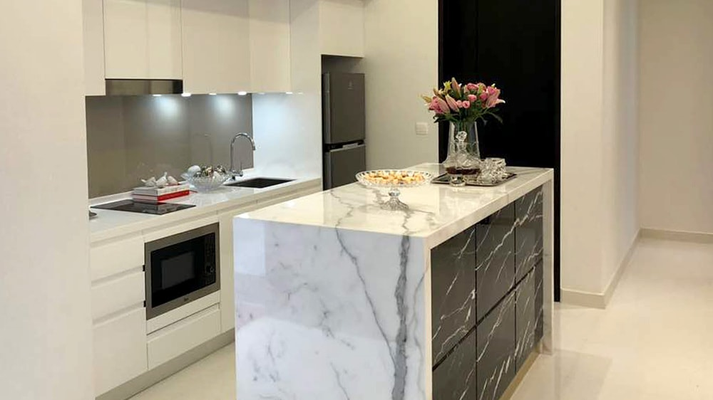 Quarella kitchen quartz countertop