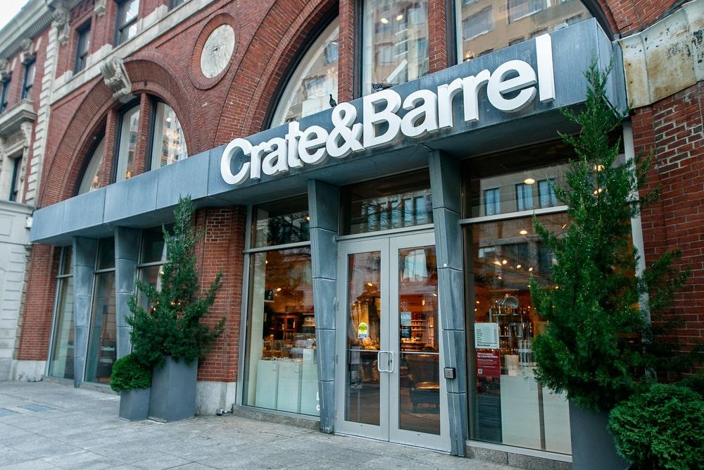 Crate&Barrel store in Boston.