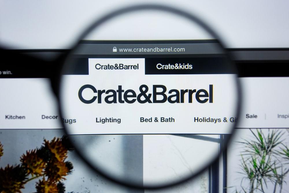 Crate&Barrel website